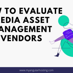 How To Evaluate Media Asset Management Vendors