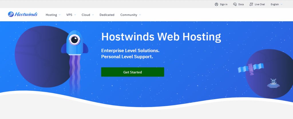 Buy Web hosting With Bitcoin: Hostwinds
