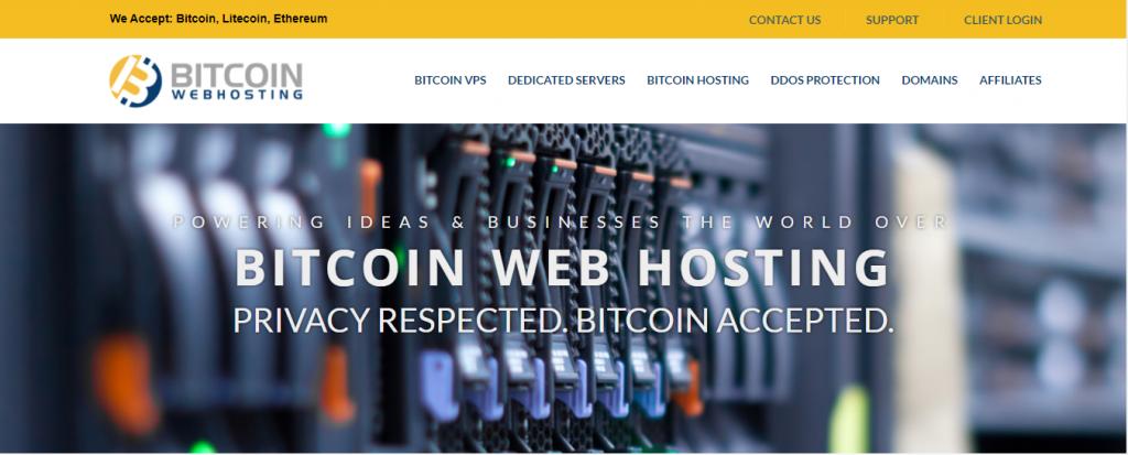 Buy Web hosting With Bitcoin: Bitcoin web hosting