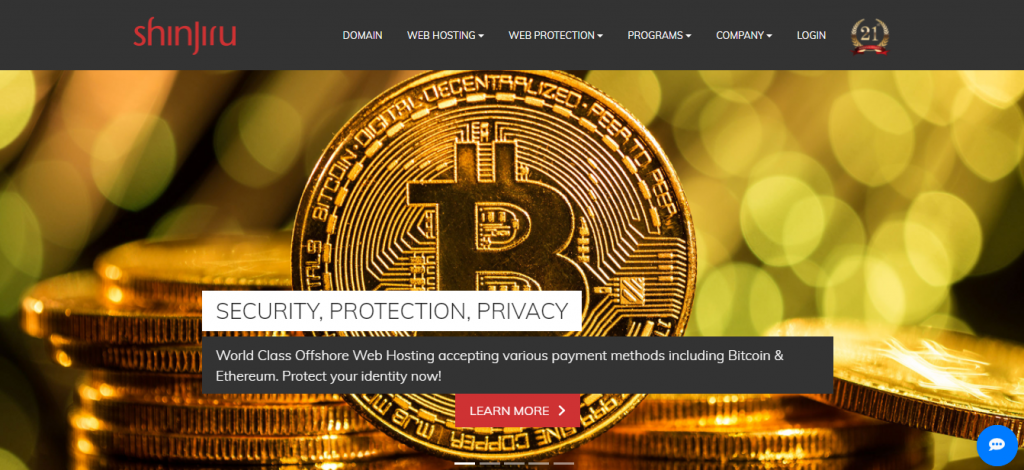 Buy Web hosting With Bitcoin: shinjiru