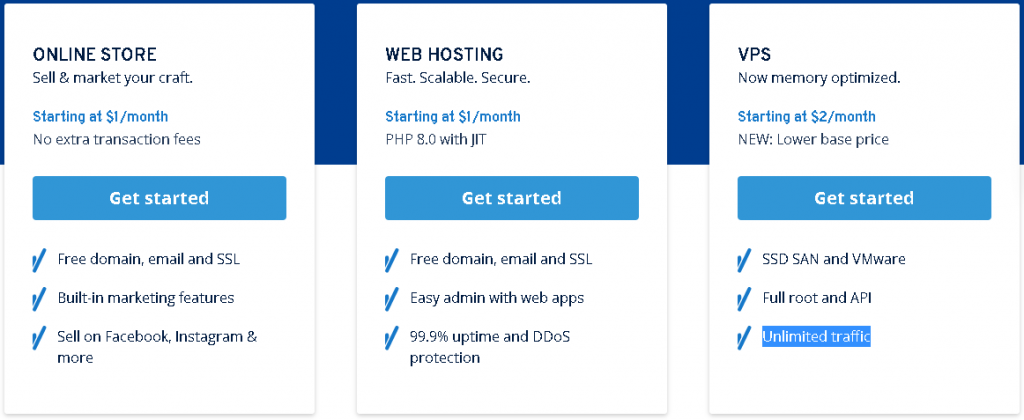 Best Angular Web Hosting in France: 1&1 plan