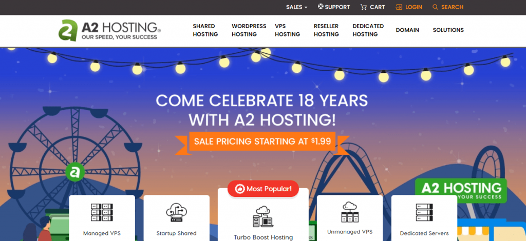 Best Angular Hosting in Nepal: A2 Hosting