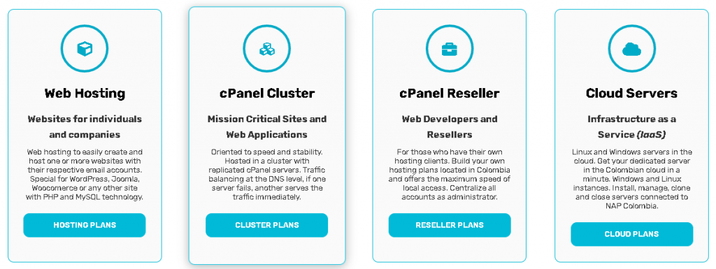 Best Angular Web Hosting in Colombia: Conexcol Hosting plan
