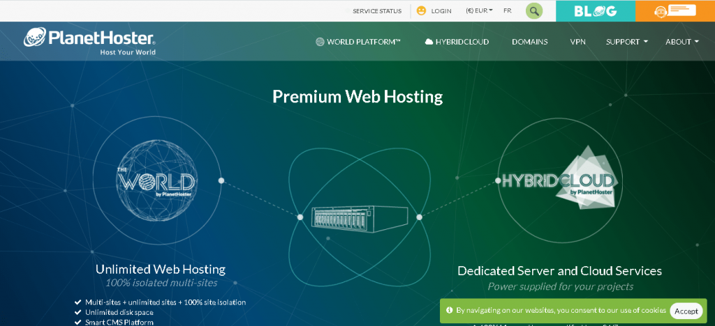 Best Angular Web Hosting in Canada: PlanetHoster