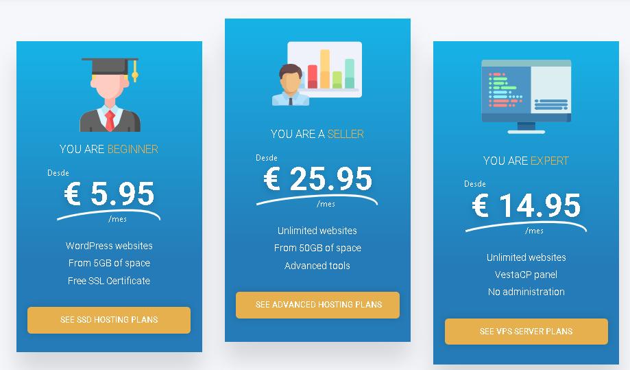 Best Web Hosting in Spain: Raiola Networks Hosting Plan