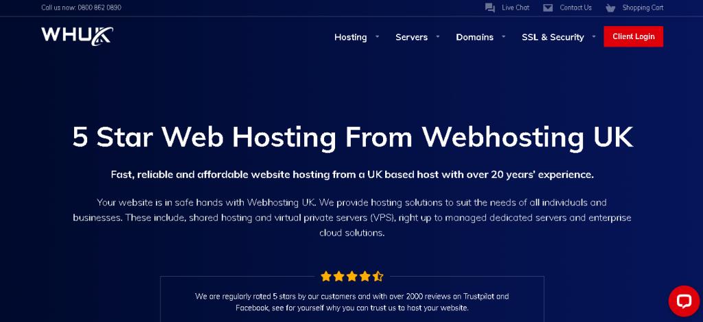 Best Angular Hosting in UK: web hOSTING uK