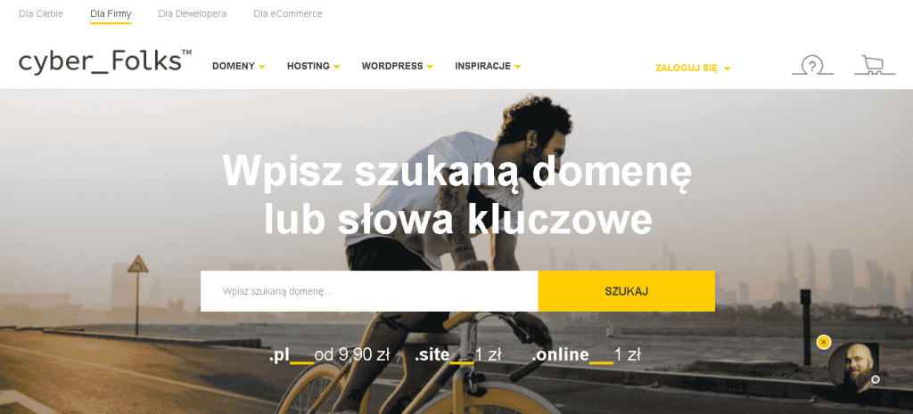 Best Web Hosting in Poland: cyber Folks Home Page