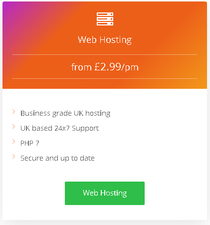 Best Angular Hosting in UK: plan