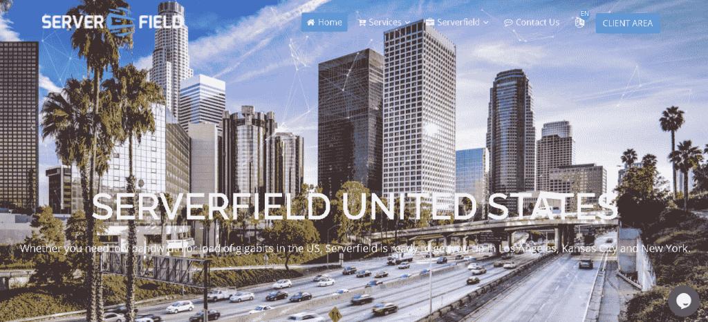 Best Web Hosting in Taiwan: SERVERField home page