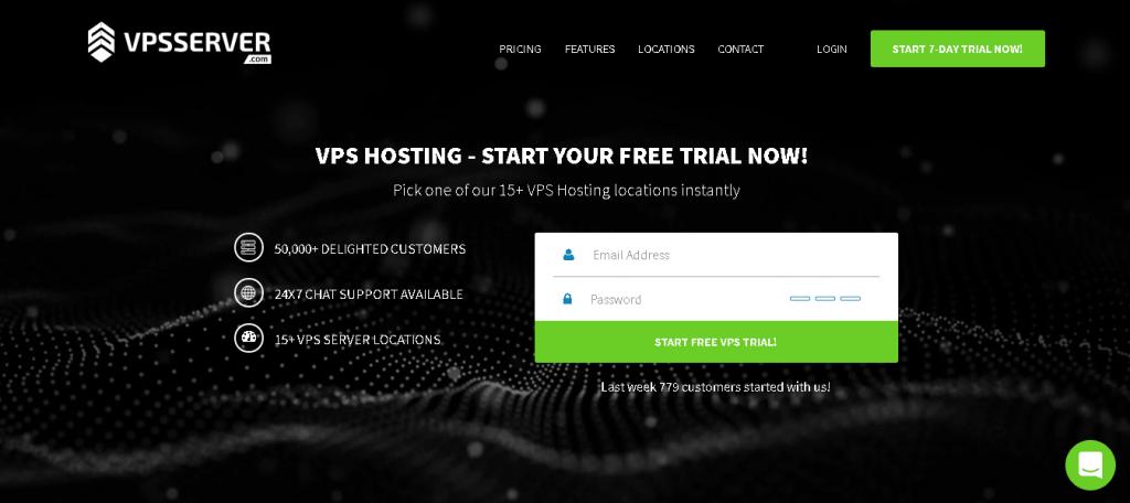 Free RDP server List: VPS Hosting Server home page