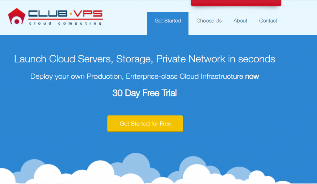 Clubvps free cloud hosting without credit card