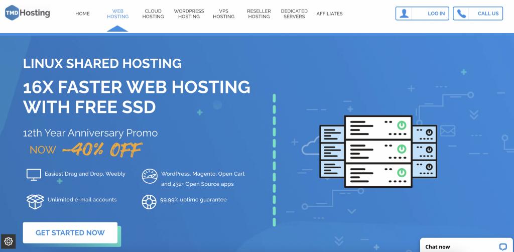 TMD HostingUnlimited Web Hosting cPanel