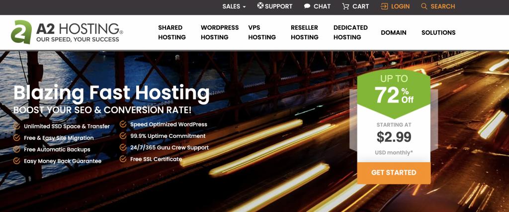 A2Hosting Unlimited web Hosting cPanel