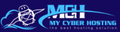 Best Web Hosting in Belgium: mycyberhosting.net logo
