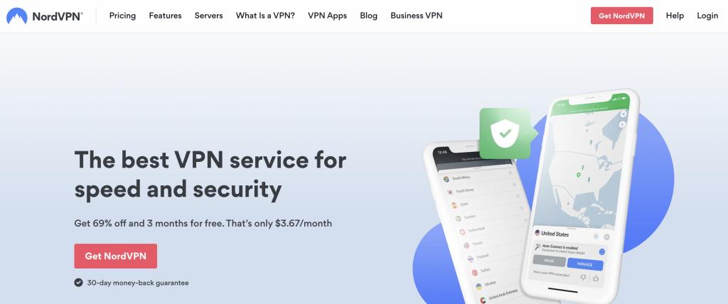 NordVPN: Top Best VPNs to Watch Movies